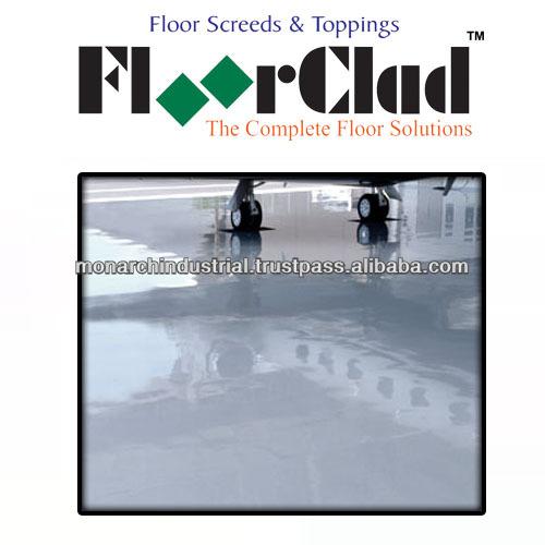 Polished concrete floor coatings