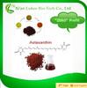100% Natural astaxanthin powder from Haematococcus pluvialis astaxanthin price
