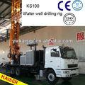 5 años de garantía de calidad 1000m camiones de profundidad de agua montado en la perforación de pozos rig con precio competitivo