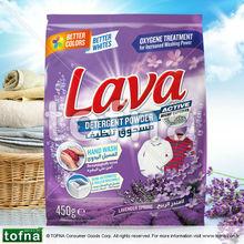 Lava Washing Powder / Detergent Powder for Manual Wash, Lavander Spring