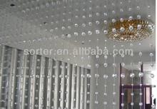 Crystal bead curtain wedding backdrop curtain