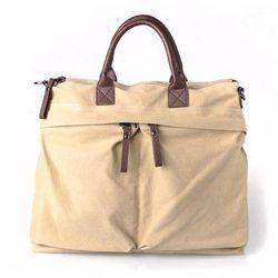 Fashion genuine leather travel bag for men doctor bag men for men