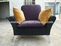 tela de lujo de la sala italiano sofá cama plegable