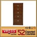 hot vente de haute qualité en bois antique avec 4 classeur tiroirs
