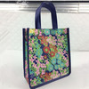 Lovely Flowers Print Mini Tote Bags Wholesale