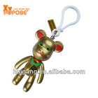 chinese character lucky cat new year gifts pvc key chain new keychain promotion gifts