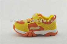 2014 New Spring cheap baby walking shoes P1141636 yellow/orange
