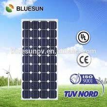 Bluesun brand cheap price 0.5 kw solar panel