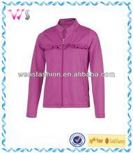 Girls Tennis Athletic Full Zip tracksuit Jacket for girls