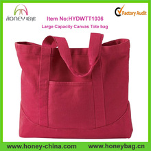 Newest Style Stylish High Quality Woman's Large Canvas Tote bag