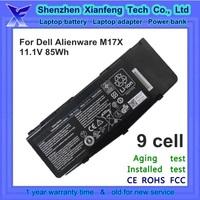 laptop battery for dell alienware m17x laptop battery