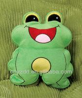 Anime Pillow/Kids Pillow Animal Shape/Plush Frog Animal Pillow