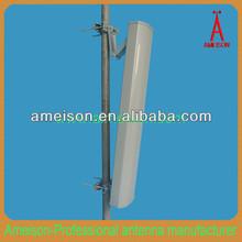 2x15 dBi high gain vertical and horizontal polarization 5.8GHz wifi MIMO Antenna
