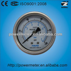 60mm volt gauge back type all ss can be oil filled good quality manufacturers