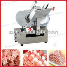 Popular electric frozen lamb slicer/meat roller slicer/beef slicer