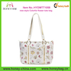 Customized Colorful Flower Print Tote Bag,Stylish Wholesale Handbag China Factory