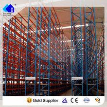 China Nanjing Jracking Warehoue Storage Equipment VNA Pallet Rack Steel