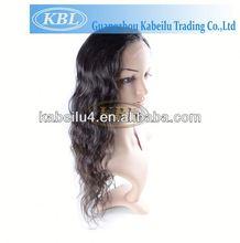 Cheap virgin human hair wig