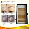 New fashion offer OEM service different colours mink eyebrow extensions