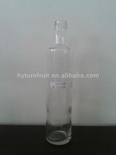 500ml olive oil flint glass bottle round shape