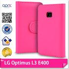 OEM PU Leather Case For LG Optimus L3 E400