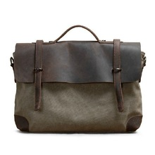 Style men waxed canvas bag 2011 trendy men bags for man