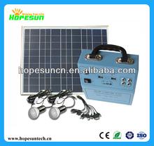 Solar power energy system, home solar power system kit 5W home solar lighting kit