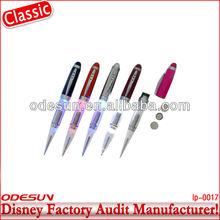 Disney factory audit manufacturer's light up ink pens 143031