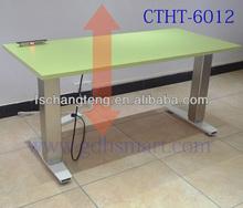 Vienna & Graz & Linz 3 columns electric sit to stand desk