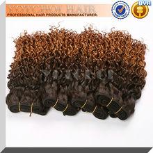 cheap Brazilian two tone color ombre hair extension