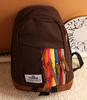 Fashion canvas school backpacks for girls
