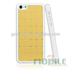 classical android phone accessory, bling bling private phone case For Apple Iphone 5C
