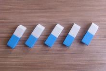 two color eraser , rubber eraser