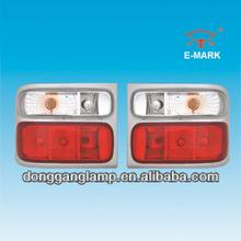all chrome toyota coaster bus lights
