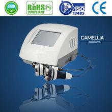 Newest efficacious salon home use 2012 best rf cavitation body slimming machine