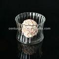 pequenas bud vaso redondo claro baratos flor vaso de vidro