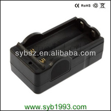 Battery Travel Wal Charger for 18650 Rechargeable Li-ion Battery Black 3.6V 3.7V