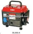 gerador portátil à gasolina manual