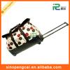 good OEM/ODM big capacity PU leather trolley bag