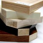 Raw and Melamine Blockboard for Furniture and Door Panel (Blockboard)