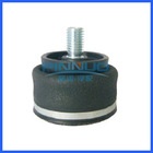 New Shaped Sleeve Air Spring 2-Ply Bellows Style #1M1A-0 Blind Nut Plastic Stud 1/8 NPT Air Inlet W023583000