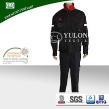 Dark blue 100% cotton fire proof flame retardant workwear trousers