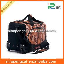 Polyester travel bag on wheels