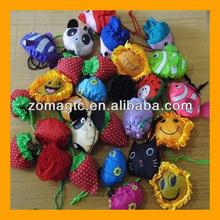 Cute Animal Fruit Shape Nylon Portable Shopping Bag