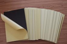 cold press PVC inner sheet for album,album material