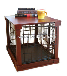 DC-1001,Wooden Dog crate with wood cover
