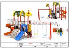 2014 best design high quality kids outdoor playground equipment