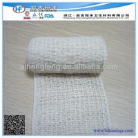Medical natural color elastic crepe bandage /elastoplast consumable