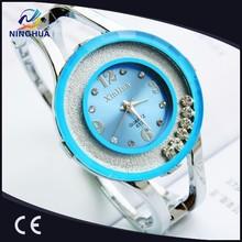 Promotional wristwatch fashion quartz bangle bracelet watch women brand new best gift top quality