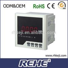 digital panel mount 1/3 phase single phase three phase ac dc kwh power types of energy meter